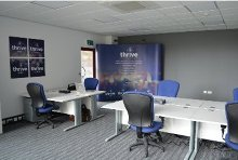 THRIVE OFFICE SPACE From £200 per person per month Taking your business up a notch? Serviced offices surrounded by the energetic Thrive community. Contact us for a quote.